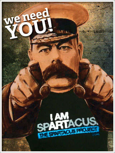 We Need You (for the Spartacus Project!)
